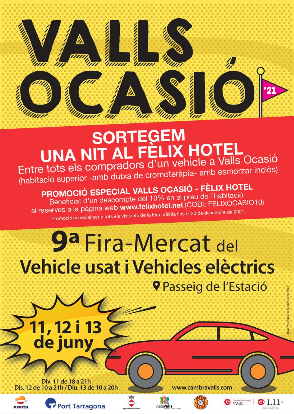 Mercat del Vehicle d'Ocasió i Elèctric de Valls